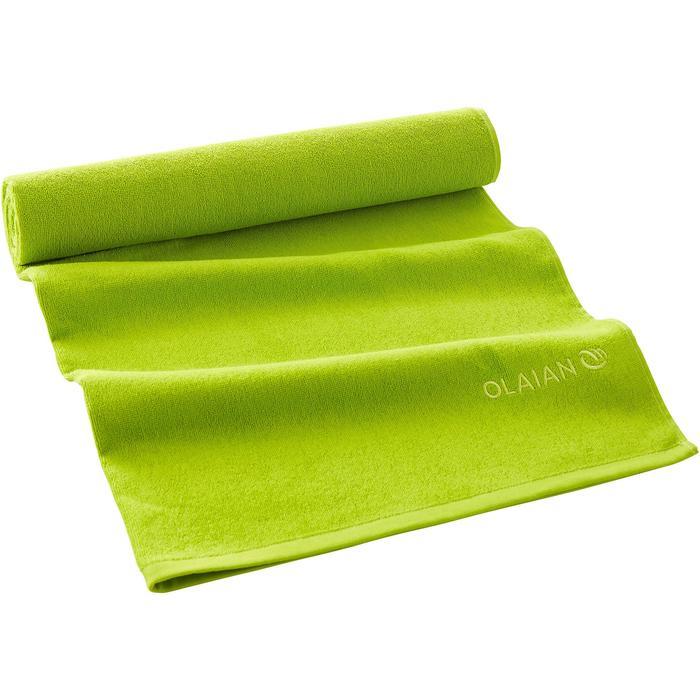 Toalla BASIC L verde lima 145 x 85 cm