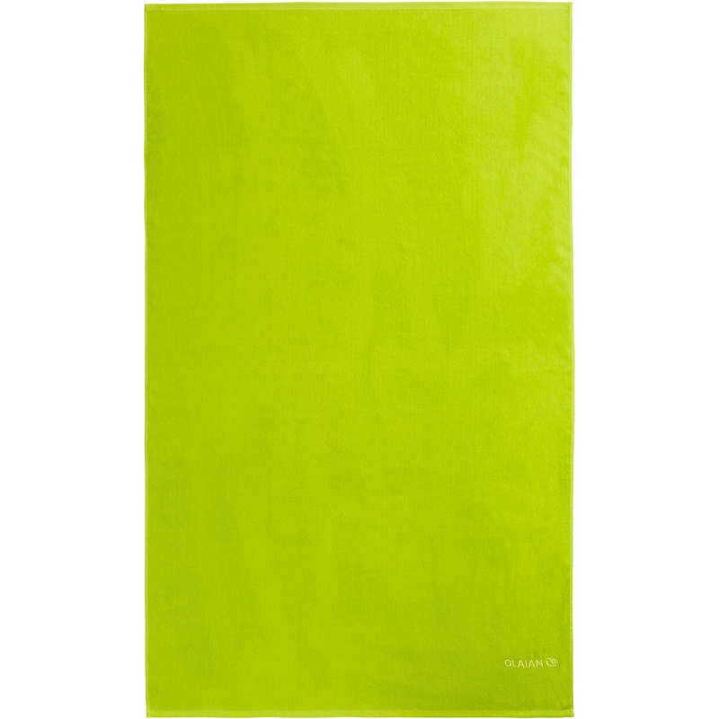 BEACH TOWELS AND PONCHO Surf - BASIC L - Lime Green OLAIAN - Surf