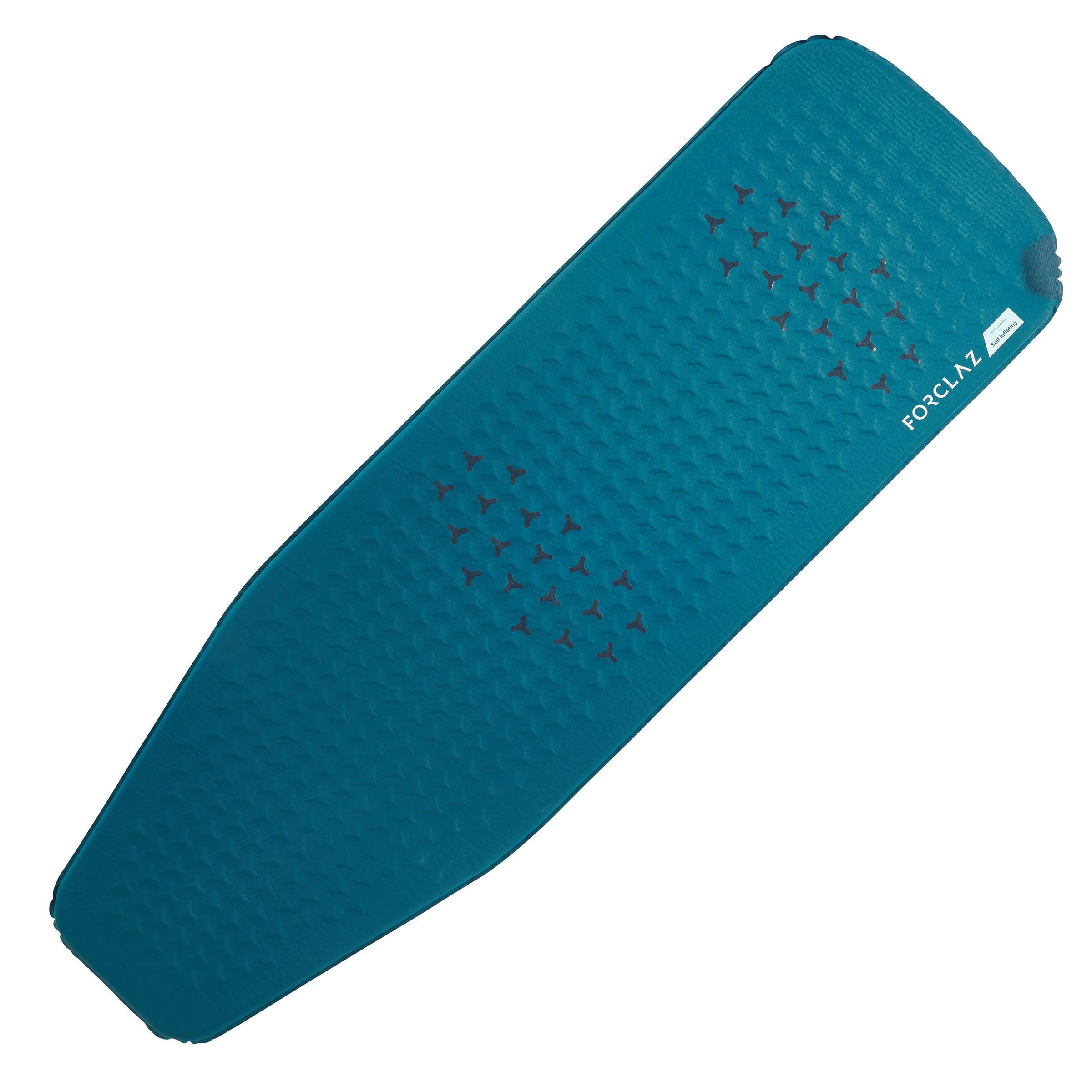 Forclaz Slaapmatje voor trekking Trek 500 zelfopblazend XL blauw