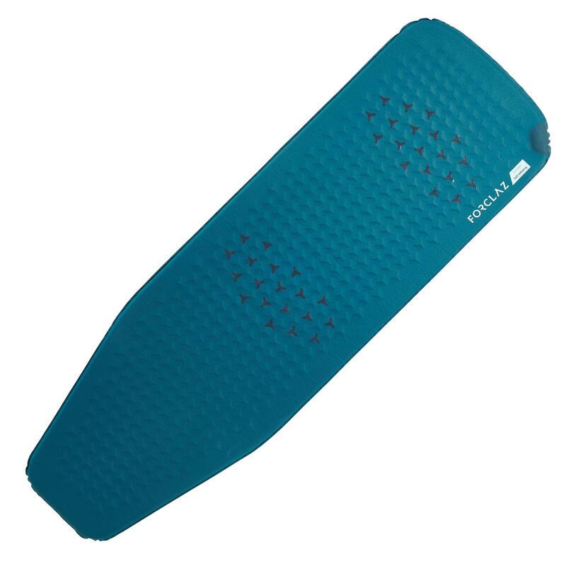 Slaapmat voor trekking Trek 500 zelfopblazend XL blauw