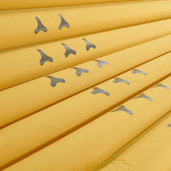 Matelas de randonnée RANDO700 air TG jaune