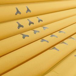 Colchón de trekking TREK700 air XL amarillo