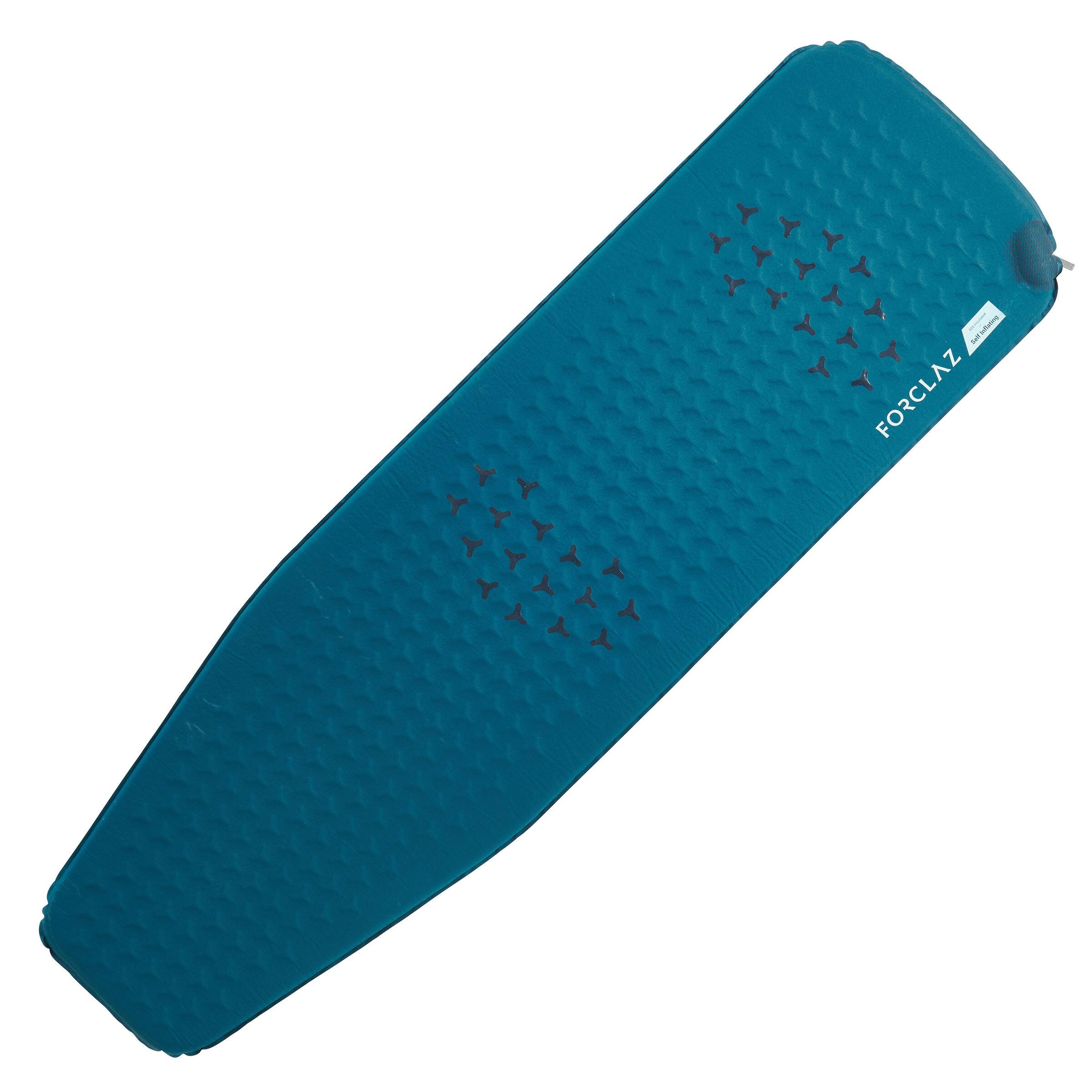 Forclaz Slaapmatje voor trekking Trek 500 zelfopblazend L blauw