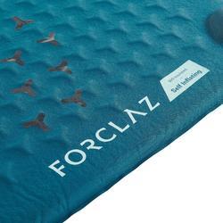 Esterilla Aislante Montaña Trekking Forclaz TREK500 L Autohinchable Azul