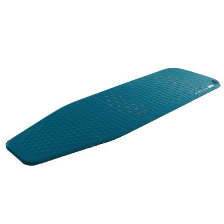 Self-inflating trekking mattress - TREK 500 XL - Blue