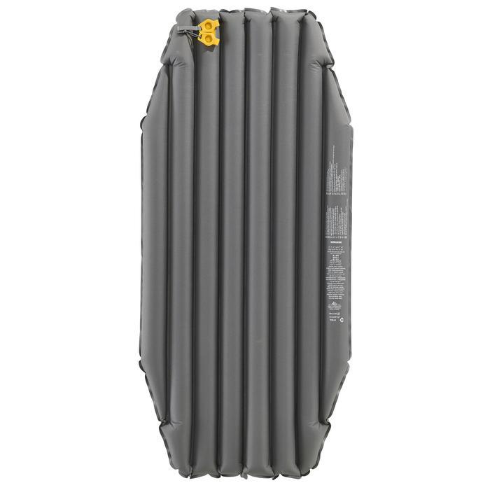 Luchtbed voor trekking Trek 700 air short grijs