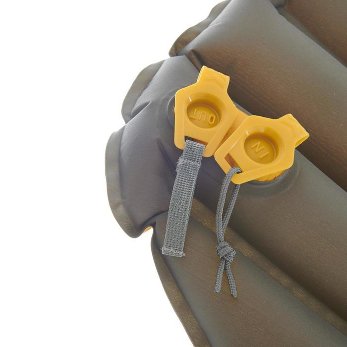 Opblaasbaar matje voor trekking Trek 700 Air XL geel