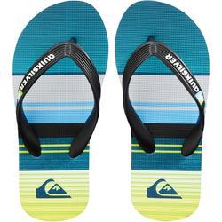 Chanclas De Playa Surf Quiksilver Niño verde