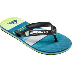 Tongs Garçon Quiksilver Stripe green