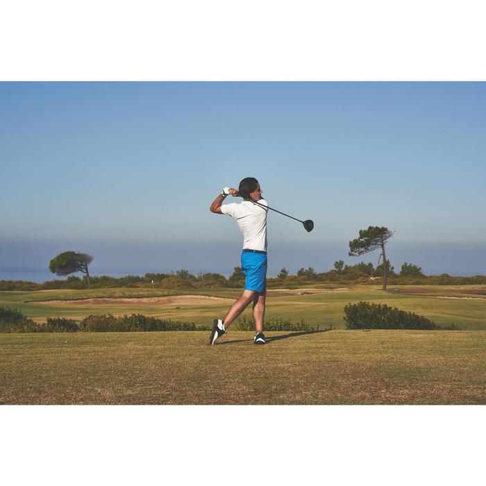 Polo de golf homme manches courtes 500 temps tempéré chiné - 1307118