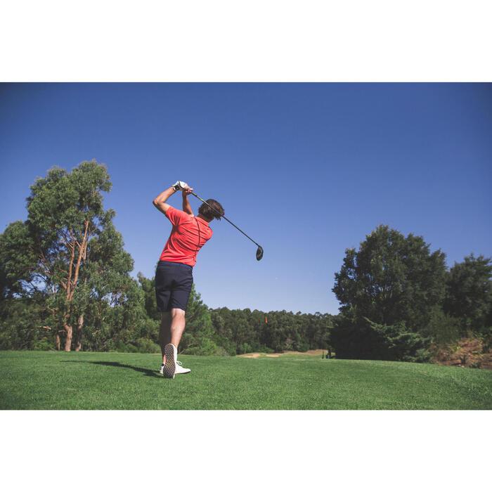 Polo de golf homme manches courtes 500 temps tempéré chiné - 1307137