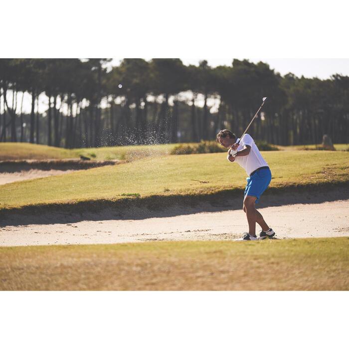 Polo de golf homme manches courtes 500 temps tempéré chiné - 1307138