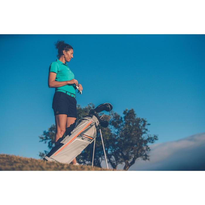 Cinturón de golf extensible adulto turquesa talla 1