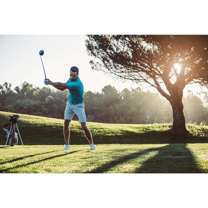 Golfbermuda 900 voor heren, warm weer, grijs