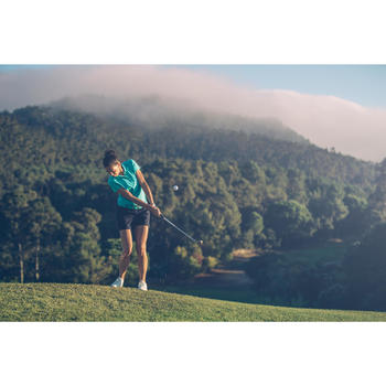 Polo de golf femme manches courtes 500 temps tempéré - 1307163