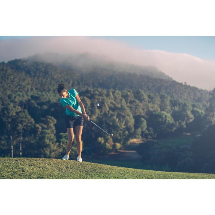 Rekbare riem 500 voor golf, volwassenen, turquoise maat 1