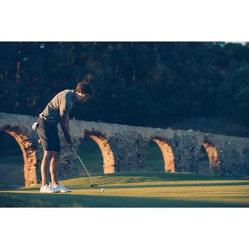 Bermuda de golf homme 900 temps chaud marine