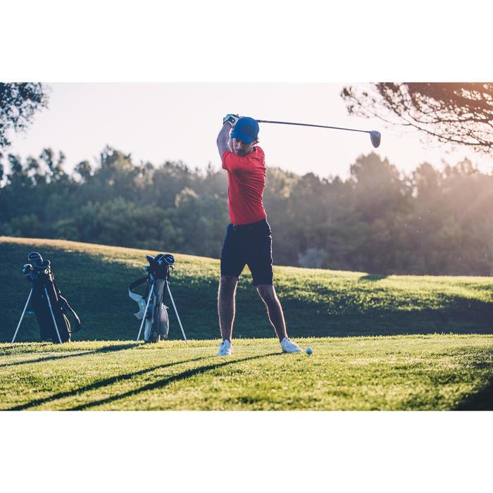 Polo de golf homme manches courtes 500 temps tempéré chiné - 1307169