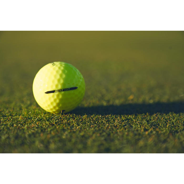 Balle de golf SOFT 500 X12 mat - 1307212