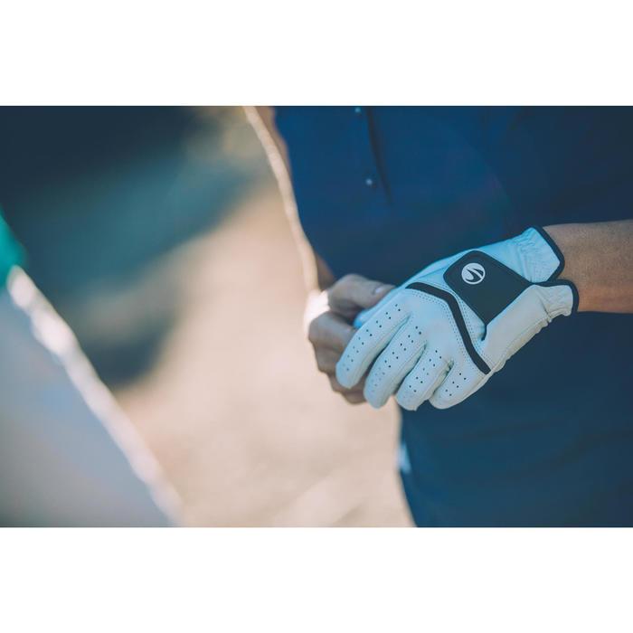 Golfhandschoen 500 voor dames, gevorderde en ervaren speelsters, rechtsh. wit