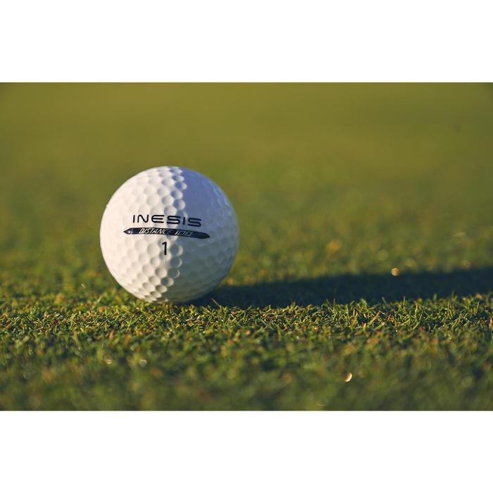Balle de golf DISTANCE 100 X12 - 1307232