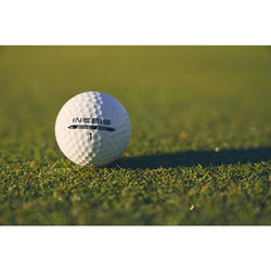 DISTANCE 100 GOLF BALL X6 WHITE