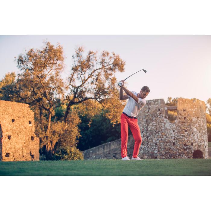 Golf Poloshirt 900 Kurzarm Herren weiß