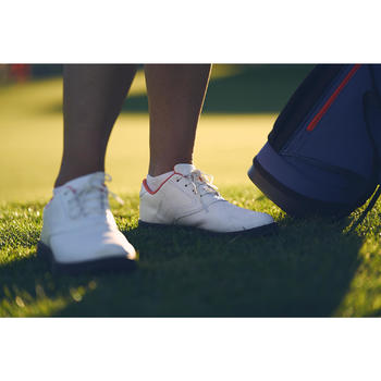 CHAUSSURES GOLF FEMME SPIKE 500 BLANCHES - 1307245