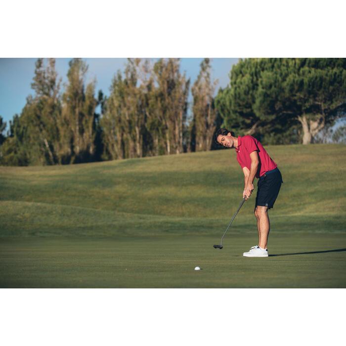 Polo de golf homme manches courtes 500 temps tempéré chiné - 1307250