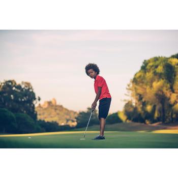 Ademende golfpolo voor kinderen rood