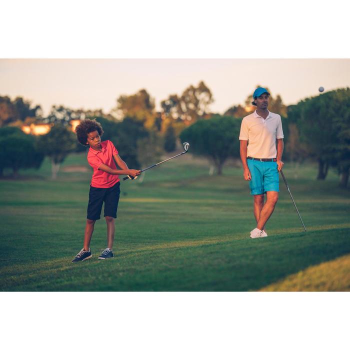 Polo de golf homme manches courtes 500 temps tempéré chiné - 1307283