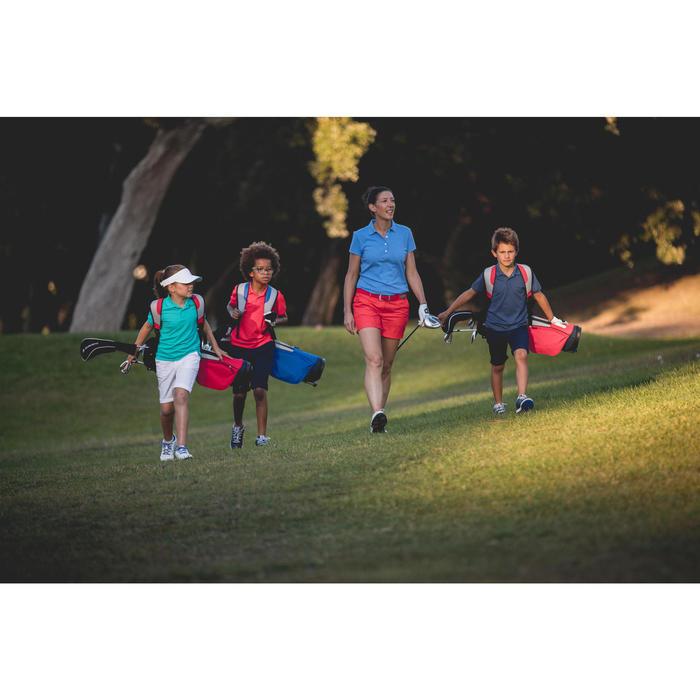 Rekbare riem 500 voor golf, volwassenen, rood maat 1