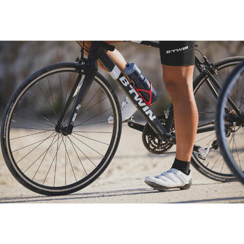 Chaussures vélo route Cyclosport 500 BLANC