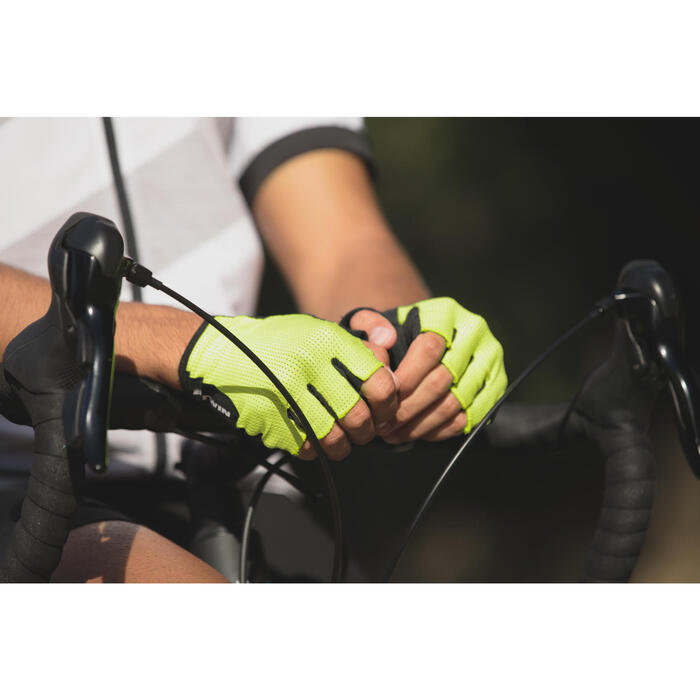 Guantes ciclismo ROADR 500 BLANCO