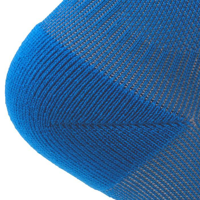 Chaussettes basses fitness cardio training x2 bleu