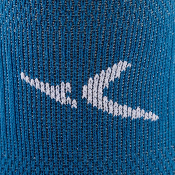 Sportsocken Invisible Cardio-/Fitnesstraining 2er-Pack blau