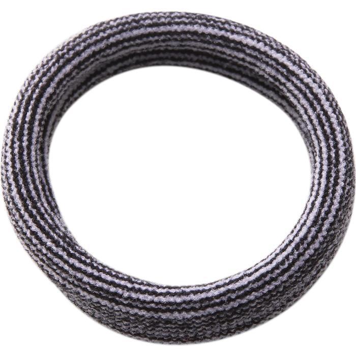 Fitness haarelastiekjes cardiotraining zwart, roze, grijs
