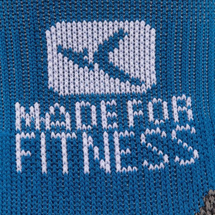 Calcetines invisibles fitness cardio training x2 azul