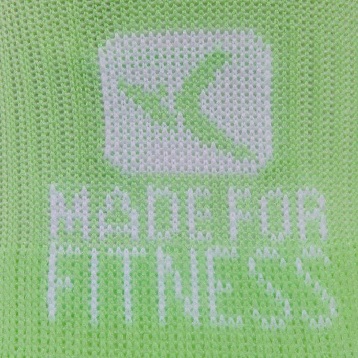 Sportsocken Invisible Fitness-/Cardio-Training 2 Paar grün