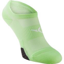 Onzichtbare fitnesssokjes 2 paar groen