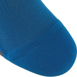 Sportsocken Invisible Fitness Cardio 2er-Pack blau