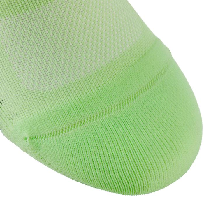 Calcetines invisibles fitness cardio training x2 verde