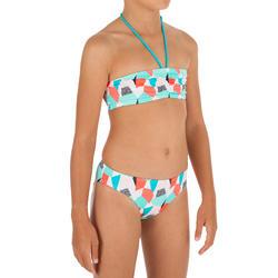 Bikini bandeau niña...