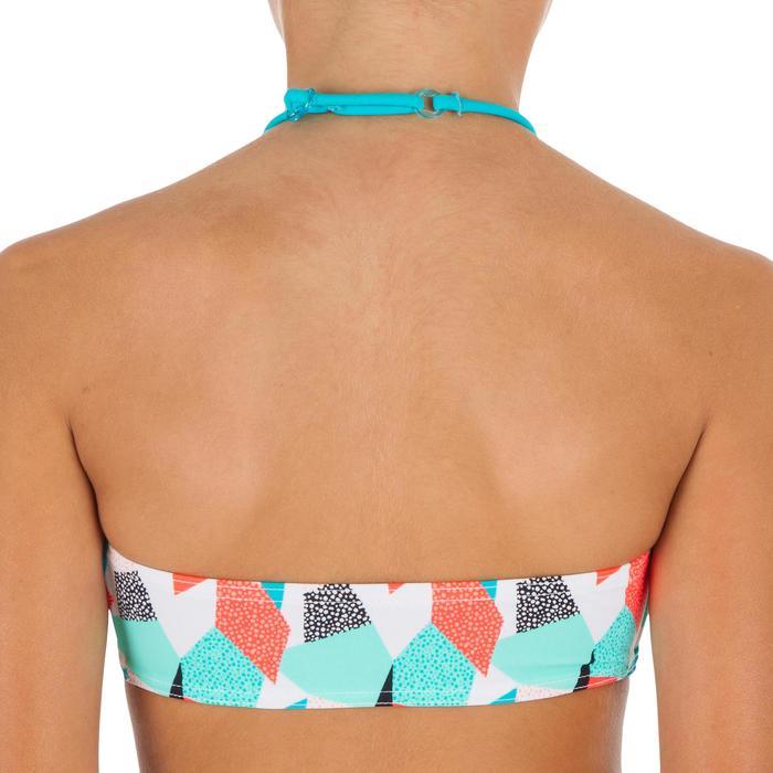 Bikini-Set Bandeau Lali Cali Mädchen blau/grün