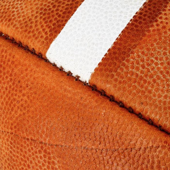 Ballon de Football américain de taille officielle pour adulte GD 2000 marron - 1307796