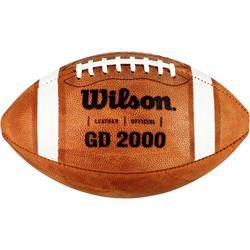 Ballon de Football américain de taille officielle pour adulte GD 2000 marron