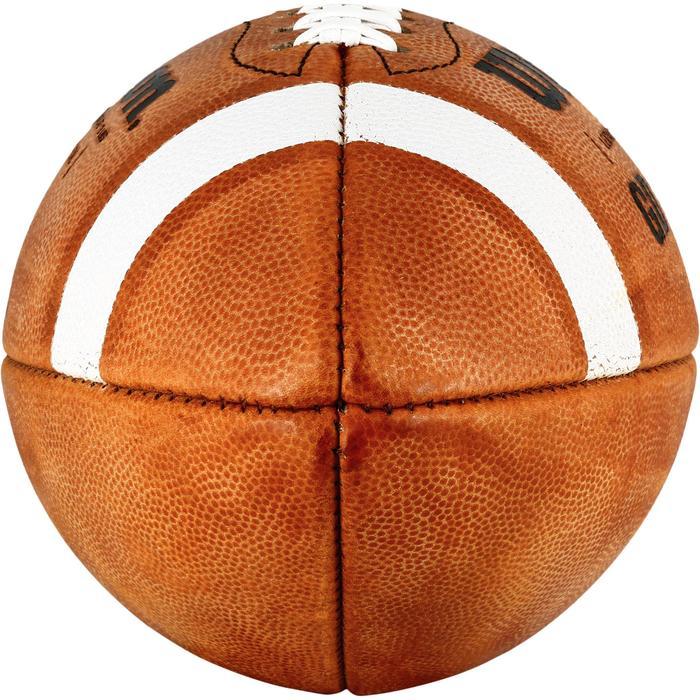 Ballon de Football américain de taille officielle pour adulte GD 2000 marron - 1307800