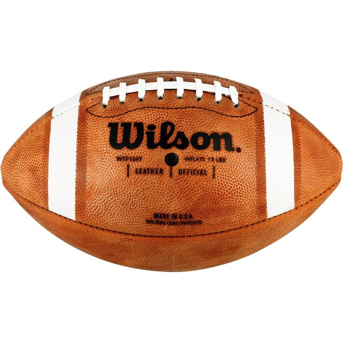 Ballon de Football américain de taille officielle pour adulte GD 2000 marron - 1307803