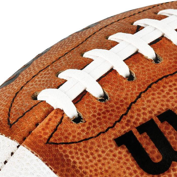 Ballon de Football américain de taille officielle pour adulte GD 2000 marron - 1307804