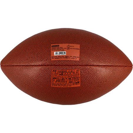 Balón de fútbol americano café AF500 de talla oficial